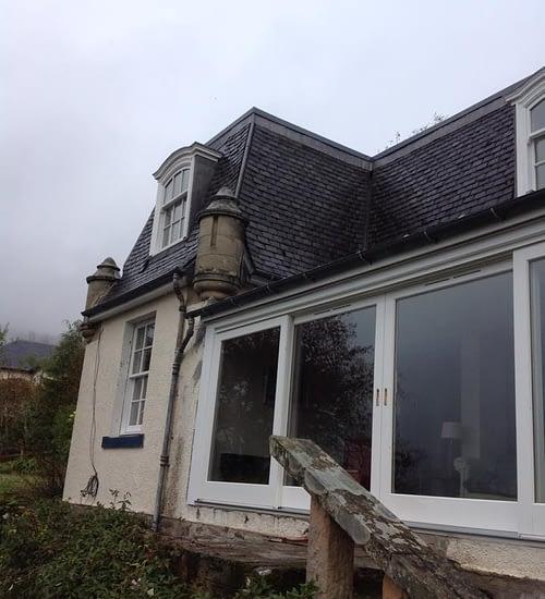 urgent roof repairs Edinburgh