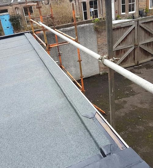 flat roofing edinburgh