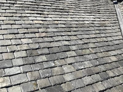scottish slate roof