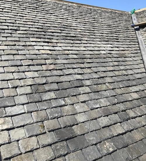 scottish slate roof